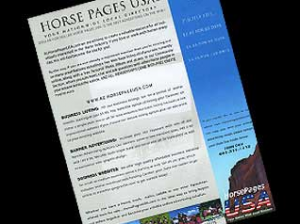 White Paper Horse Pages